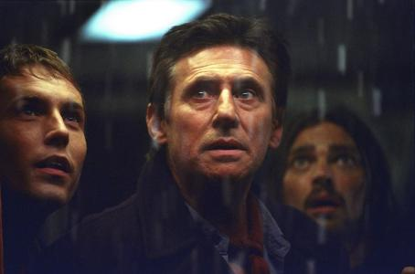 Desmond Harrington , Gabriel Byrne and Karl Urban in Warner Brothers' Ghost Ship - 2002