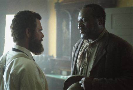 Frankie Faison Stephen Lang (left) and  in Ted Turner Pictures sweeping epic 'Gods and Generals,' also starring Stephen Lang and Robert Duvall, distributed by Warner Bros. Pictures.