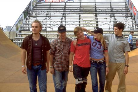 Mike Vogel Joey Kern, Vince Vieluf, , Jennifer Morrison and Adam Brody in the comedy 'Grind,' distributed by Warner Bros. Pictures.