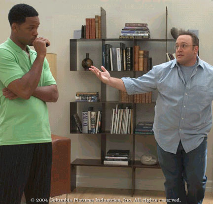 Kevin James Will Smith and  in Sony Pictures' Hitch, directed by Andy Tennant.