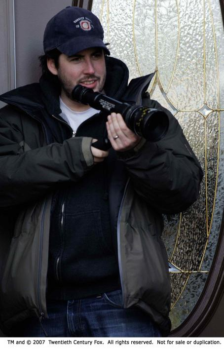 Juno Director Jason Reitman on the set of JUNO. Photo Credit: Doane Gregory