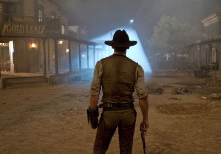 Cowboys & Aliens A scene from Universal Pictures' Cowboys and Aliens.