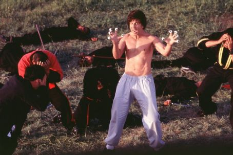 Kung Pow: Enter the Fist Deadly Ninj'a assassins lose a lot more than their dignity after taking on The Chosen One (Steve Oedekerk) in 20th Century Fox's Kung Pow!: Enter The Fist - 2002