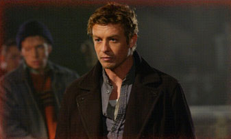 Simon Baker Mercenaries Riley (SIMON BAKER, right) and Charlie (ROBERT JOY, background) are deployed by the leaders of a walled city.