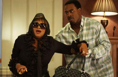 Lamman Rucker Vera (Jenifer Lewis) and Will () in TYLER PERRY'S MEET THE BROWNS. Photo Credit: Alfeo Dixon