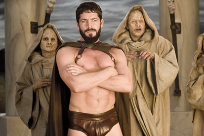Sean Maguire Center:  star as Leonidas in Meet the Spartans.