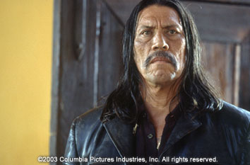 Once Upon a Time in Mexico Danny Trejo in Columbia's  - 2003