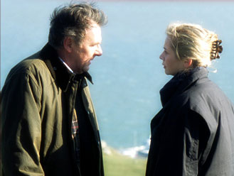 Emily Watson Tom Wilkinson as James Manning and  stars as Anne Manning in Julian Fellowes' Drama/Romance Separate Lies - 2005, distributed by Fox Searchlight