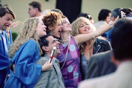 The Banger Sisters Erika Christensen, Robin Thomas, Susan Sarandon, Eva Amurri and Goldie Hawn in Fox Searchlight's  - 2002