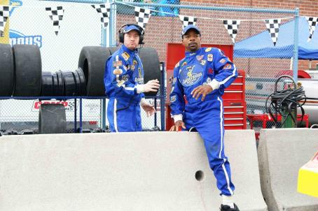 David Koechner Racecar Nights.  and Carl Weathers take on NASCAR in THE COMEBACKS.