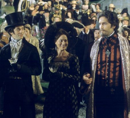 Helen McCrory James Frain,  and James Caviezel in Touchstone's The Count of Monte Cristo - 2002