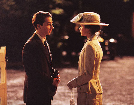 Peyton List Shia LaBeouf (Francis Ouimet) and   (Sara Wallis) in Walt Disney Pictures' drama The Greatest Game Ever Played - 2005