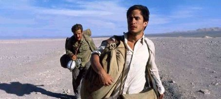 The Motorcycle Diaries Rodrigo de la Serna and Gael Garcia Bernal in  - 2004