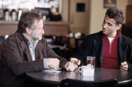 Bobby Cannavale (L-R) Robin Williams as GABRIEL NOONE and  as JESS in THE NIGHT LISTENER. Photo credit: Anne Joyce/Courtesy of Miramax Films