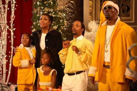 Katt Williams Gabrielle Union, , and Charlie Murphy in The Perfect Holiday, a Yari Film Group Release. ©2007 Yari Film Group Releasing.