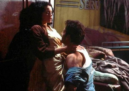 The Singing Detective Carla Gugino and Robert Downey Jr. in  - 2003