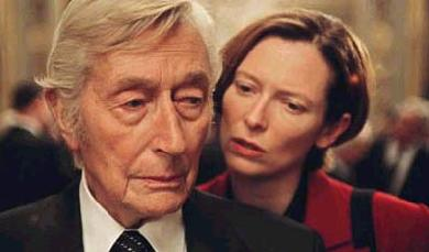 John Neville  and Tilda Swinton in The Statement - 2003