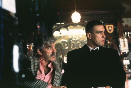 Dennis Farina  and Vinnie Jones in Screen Gems Guy Ritchie's Snatch - 2001
