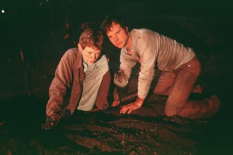 Frailty Matthew O'Leary and Bill Paxton in Lions Gate's  - 2002