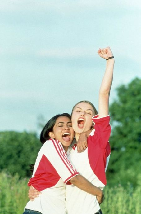 Bend It Like Beckham Left to Right: Parminder Nagra and Keira Knightley