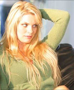 Nichole Hiltz  star as Samantha in thriller 'Venice Underground.'
