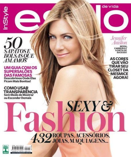 Jennifer Aniston - Estilo De Vida Magazine Cover [Brazil] (April 2012)