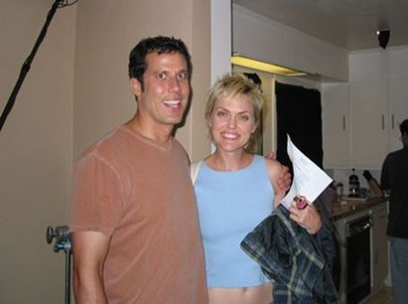 Coffee Date Jonathan Bray and Elaine Hendrix behind the scene of .