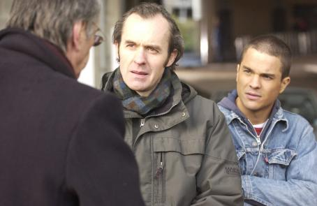 Stephen Dillane  as Glen Foy and Kuno Becker as Santiago Munez in Drama Sport Touchstone Pictures', Goal! The Dream Begins