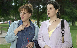 Melanie Lynskey Kathy Najimy as Maggie and  as Susan in TLA Releasing's, Say Uncle - 2006