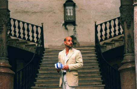 Stanley Tucci  as Larry in Four Last Songs.