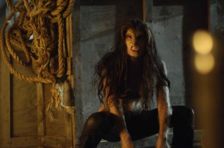 Skinwalkers Natassia Malthe star as Sonja in James Isaac's horror movie