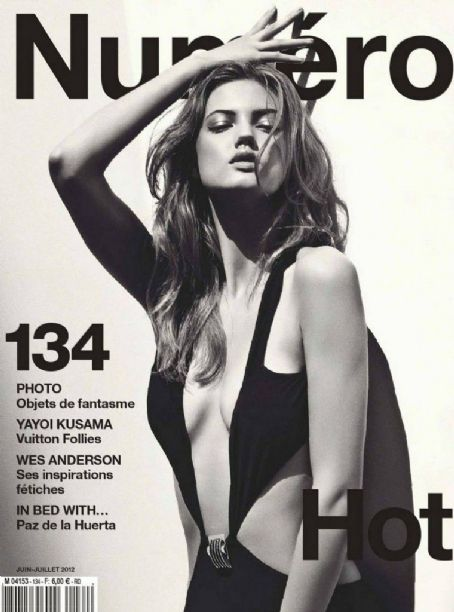 Lindsey Wixson Numero Magazine June-July 2012