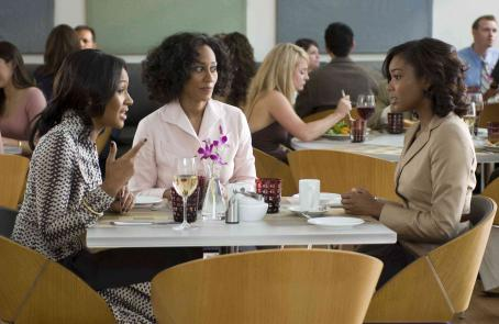 Terri J. Vaughn Brenda (), Cynthia (Tracee Ellis Ross) and Julia (Gabrielle Union) in TYLER PERRY'S DADDY'S LITTLE GIRLS. Photo credit: Alfeo Dixon