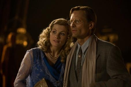 Jodie Whittaker  with Viggo Mortensen in C.P. Taylor drama 'Good.'
