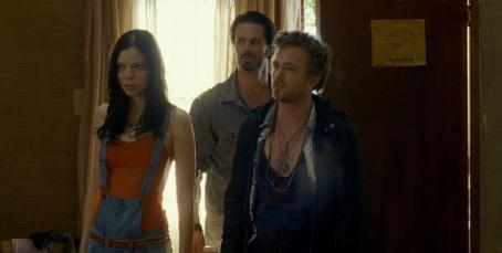Garret Dillahunt Martha MacIsaac as Paige,  as Krug and Aaron Paul as Francis in Universal Pictures and Rogue Pictures' The Last House on the Left