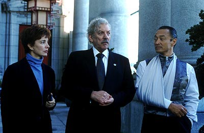 The Art of War Anne Archer, Donald Sutherland and Cary Hiroyuki Tagawa in Warner Brothers'  - 2000