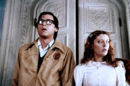 The Rocky Horror Picture Show Susan Sarandon as Janet and Barry Bostwick as Brad in Rocky Horror Picture Show (1975)