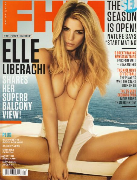 Elle Liberachi - FHM Magazine Cover [United Kingdom] (May 2011)