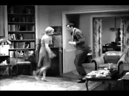 Mary Grace Canfield Gomer Cutting A Rug