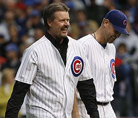 Kerry Wood Rick Sutcliffe With  2009