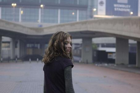 Imogen Poots Tammy () arrives at a deserted Wembley Stadium.
