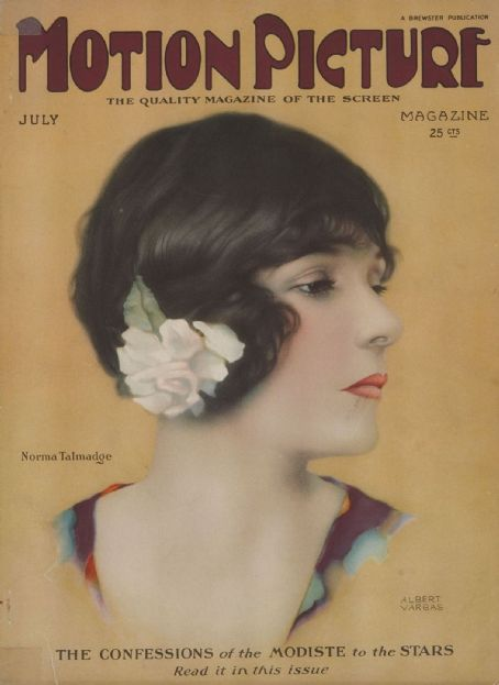 Norma Talmadge - Motion Picture Magazine [United States] (July 1924)