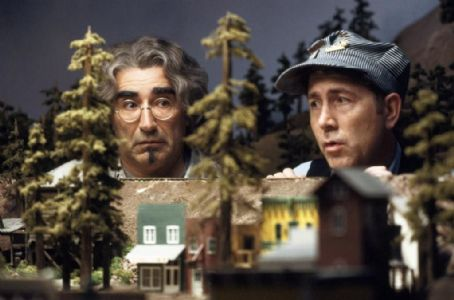 Eugene Levy  and Jim Piddock in Castle Rock EntertainmentÕs documentary-style comedy 'A Mighty Wind,' distributed by Warner Bros. Pictures.