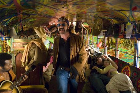 Bono (center) as Dr. Robert in Revolution Studios' Across the Universe.