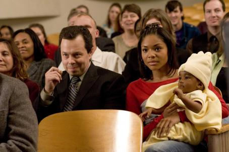 Curtis Armstrong Mr. Welch () and Keisha (Erica Hubbard) in AKEELAH AND THE BEE. Photo credit: Saeed Adyani