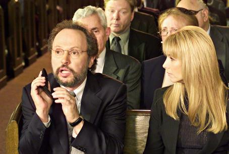 Billy Crystal  and Lisa Kudrow in Warner Brothers' Analyze That - 2002