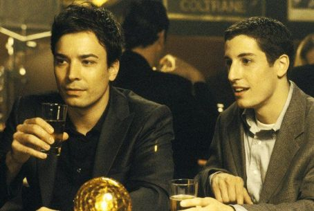Jimmy Fallon  and Jason Biggs in Woody Allen's latest comedy Anything Else.