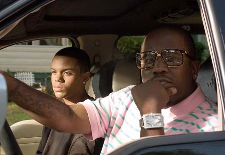 Evan Ross  (left) portrays Anton 'Ant' Swann in Warner Bros. Pictures' music-driven coming of age story, ATL.