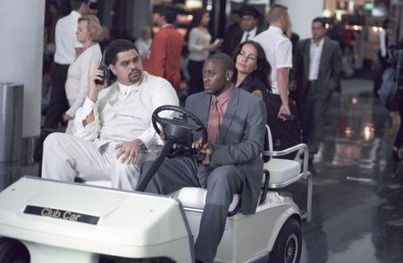 Heavy D , Omar Epps and Janeane Garofalo in Touchstone's Big Trouble - 2002