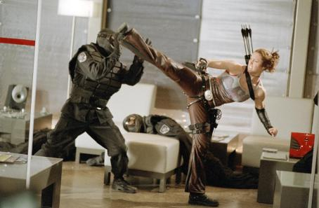 Abigail Whistler Jessica Biel stars as the high-kicking 'Abigail' in New Line Cinema's third installment of the BLADE series, BLADE TRINITY.